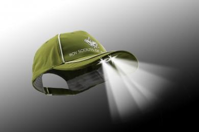 4 Ultra Led Light Olive Fashion Cap