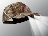 4 LED hunting and camping cap